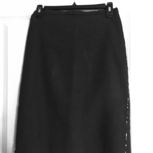 Dresses & Skirts - Dark grey pencil skirt with side sequence